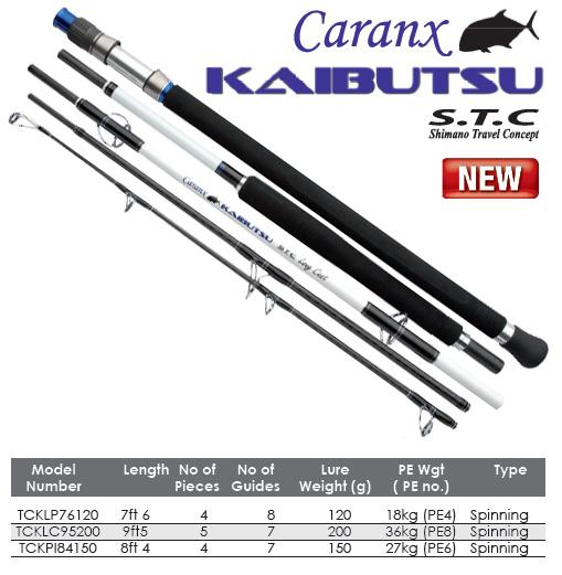 Hot Tackle Fishing: Shimano Caranx Kaibutsu STC